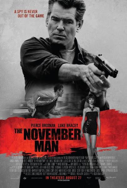 Poster Of The November Man 2014 720p Hindi BRRip Dual Audio Full Movie