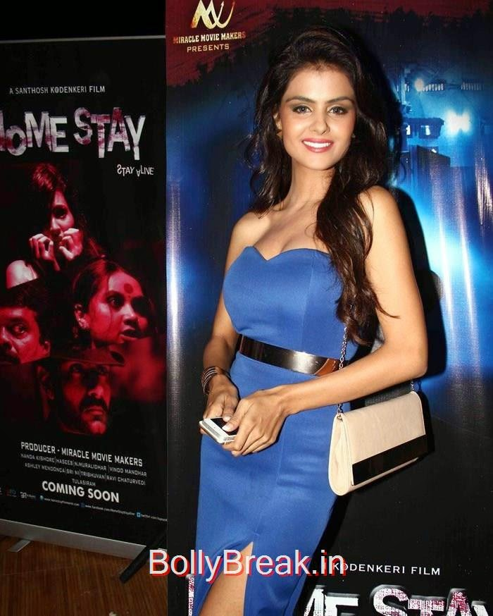 'Home Stay' First Look Launch, Sayali Bhagat Hot Pics  'Home Stay' First Look Launch