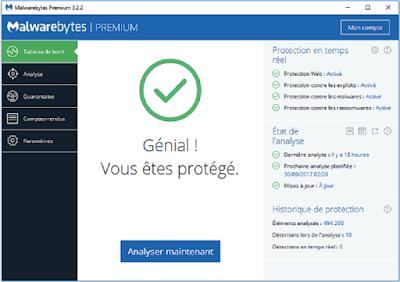 تحميل برنامج الحماية  Malwarebytes 3.2.2.2029