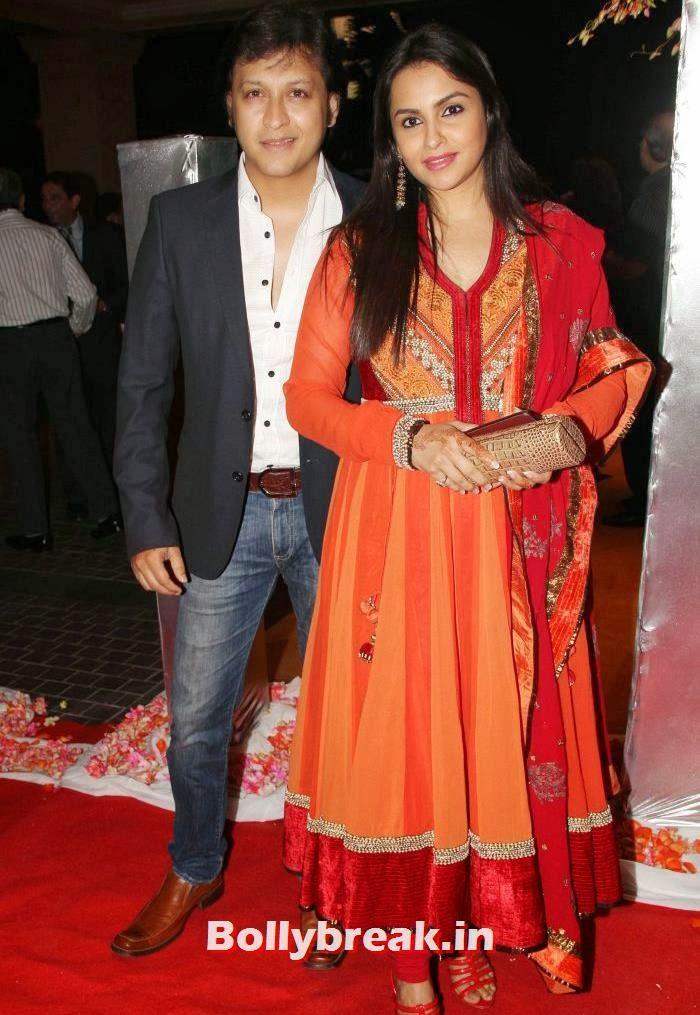 Vivek Oberoi, Priyanka Alva Oberoi, Siddharth Kannan & Neha Agarwal Wedding Reception Pics