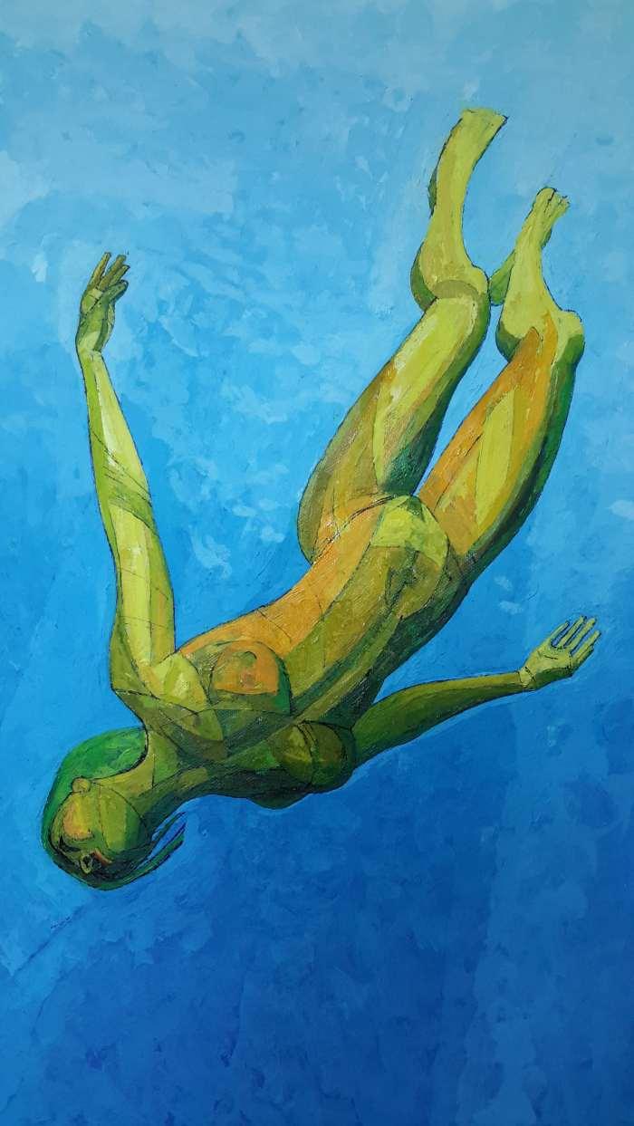 Фигуративный художник. David Watmough