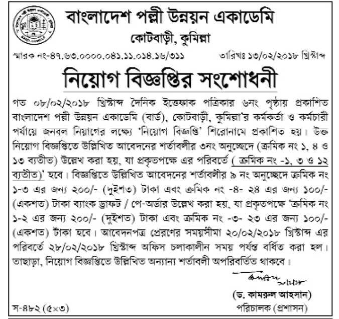 Bangladesh Palli Unnayon Academy