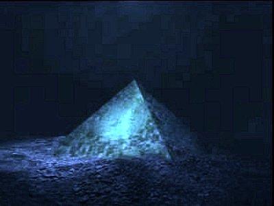 Crystal Island Pyramid In NewsGiant Discovered Triangle Bermuda b7gf6vIyY