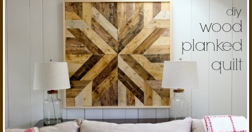 That S My Letter Quot W Quot Is For Wood Planked Quilt