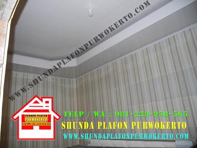 Pemasangan Plafon Pvc Shunda di Rumah Bapak Darwanto