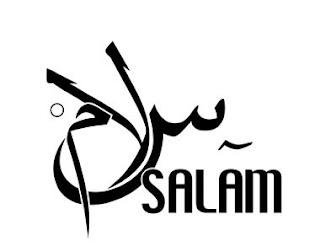 Kaligrafi Assalamualaikum