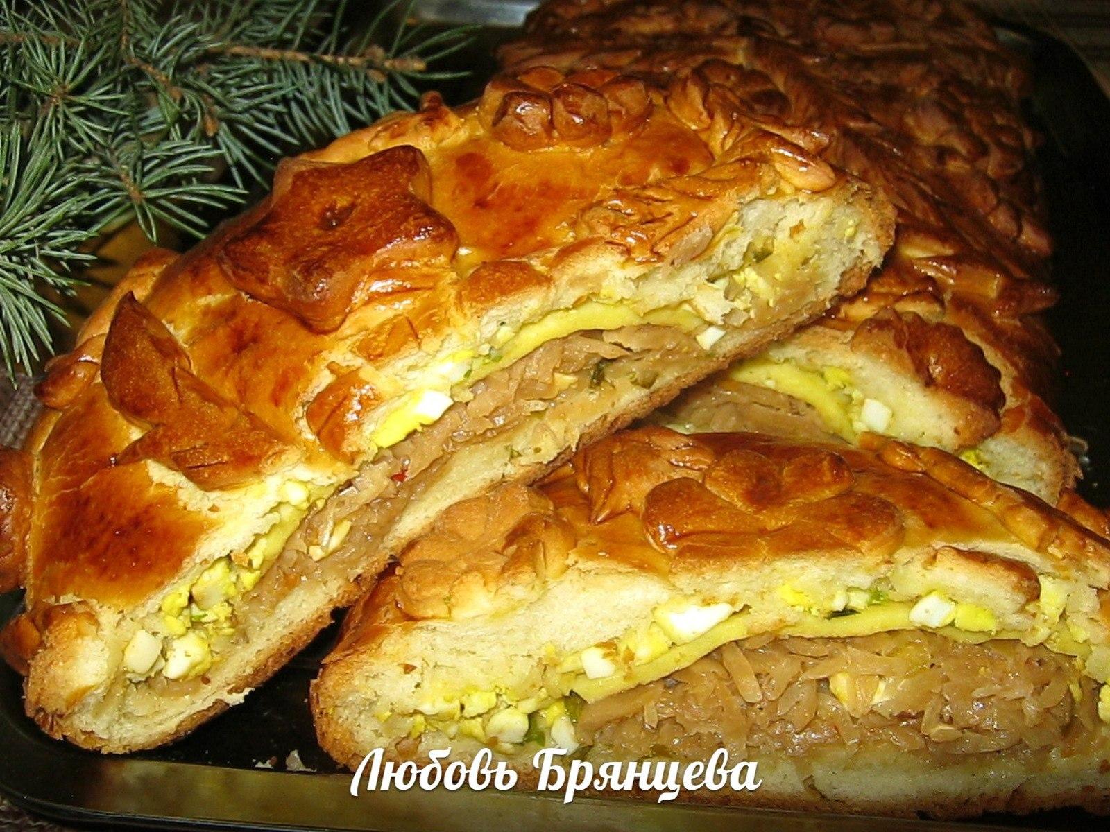 Пирог с рыбными консервами / Пироги и пирожки