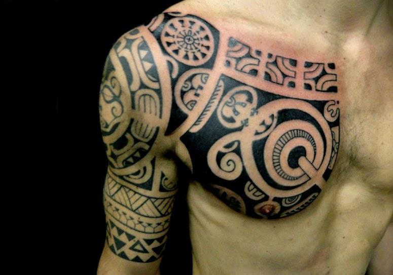 tattoo spr che polynesische tattoos. Black Bedroom Furniture Sets. Home Design Ideas