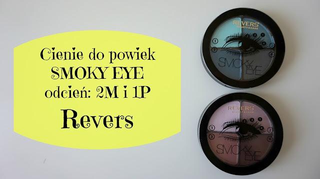 RECENZJA: Cienie do powiek SMOKY EYE | Revers