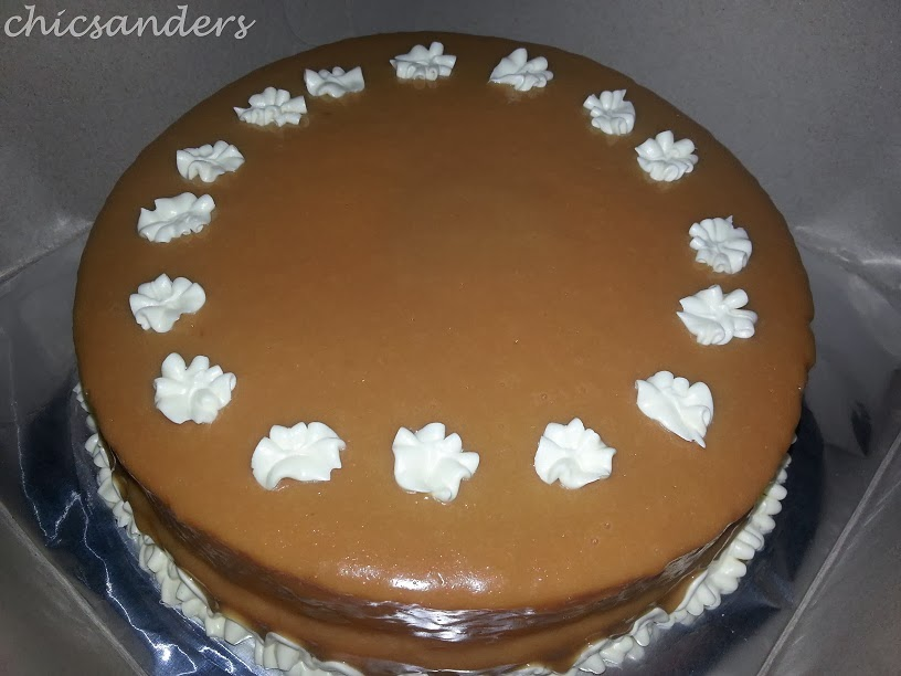 Chicsanders Caramel Cake A Perfect Way To End My Day