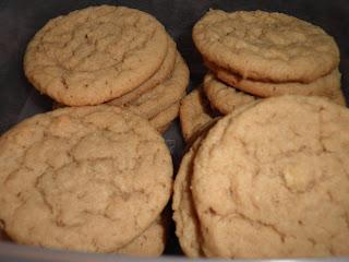 White Chocolate Wonderful Peanut Butter Cookies
