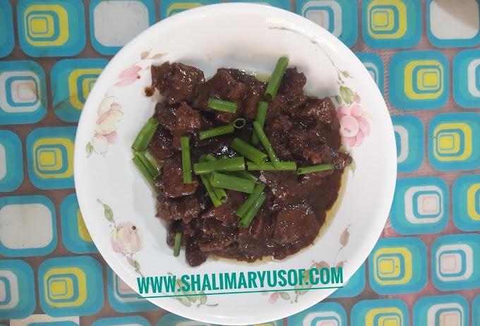 RESEPI KOREAN BBQ BEEF (BULGOGI)
