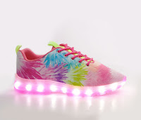 "Sugar Kids ""ALL LIT UP"" trainer's kicks"