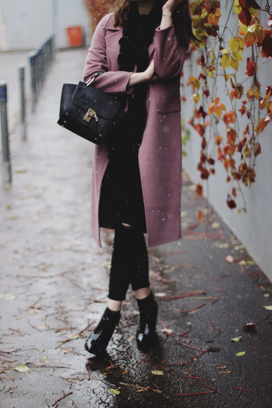 Pink Coat Styling | Fashion Blogger