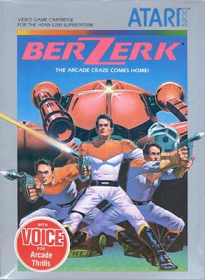 Videojuego Berzerk - Atari