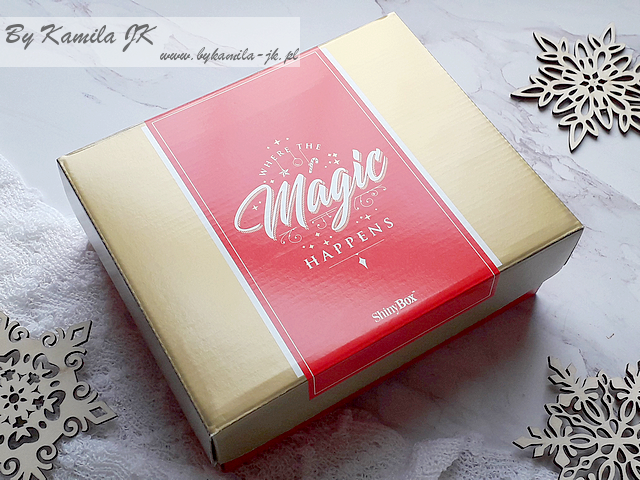 Shiny Box Where The Magic Happens Edycja grudzień 2017 grudniowy zawartość