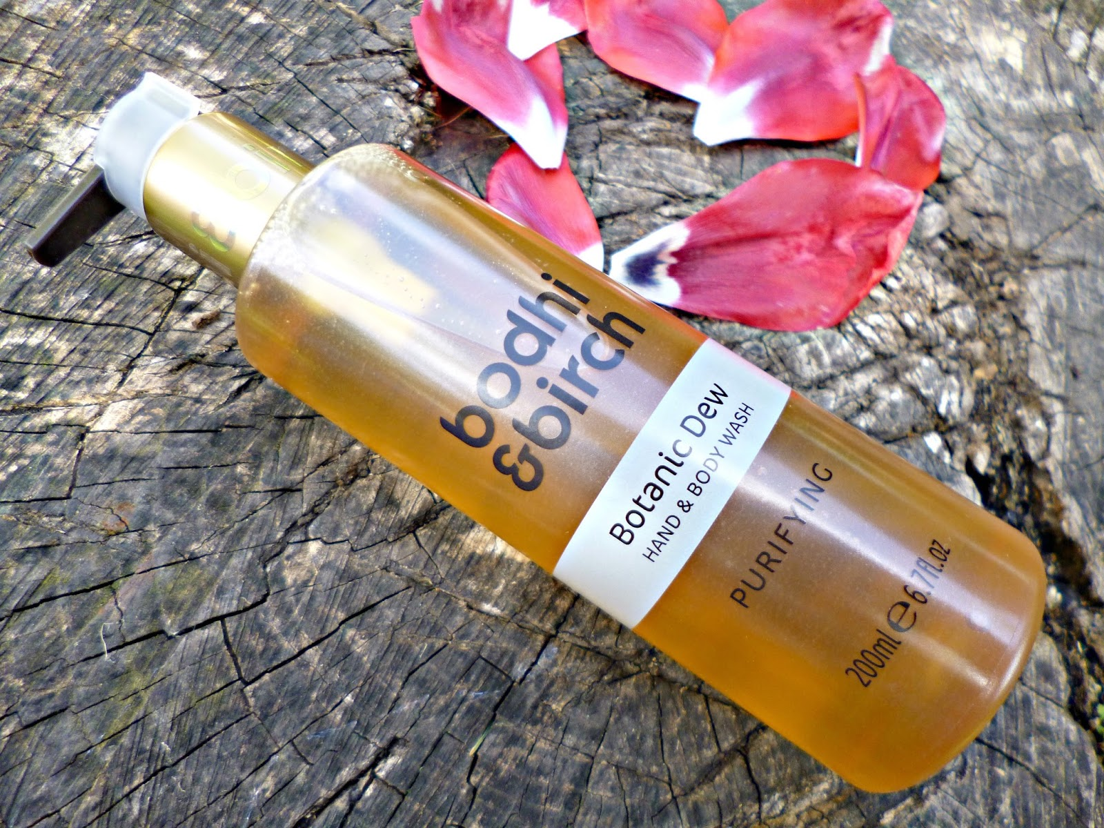 New in: Bodhi and Birch Botanic Dew hand and body wash