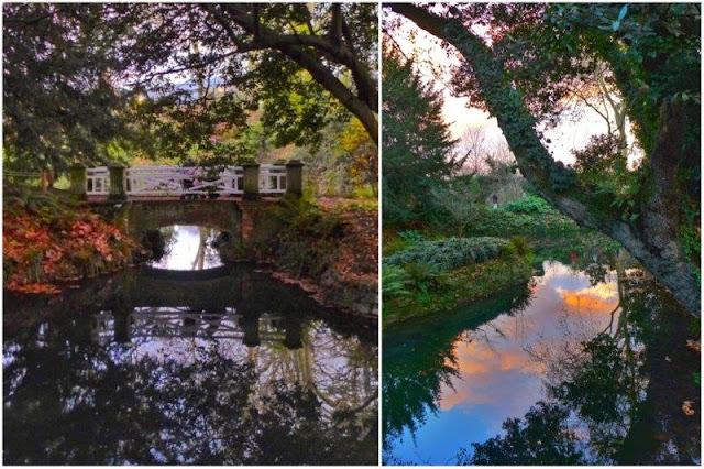 Diversos entornos dentro del Jardín Botánico Atlántico de Gijón