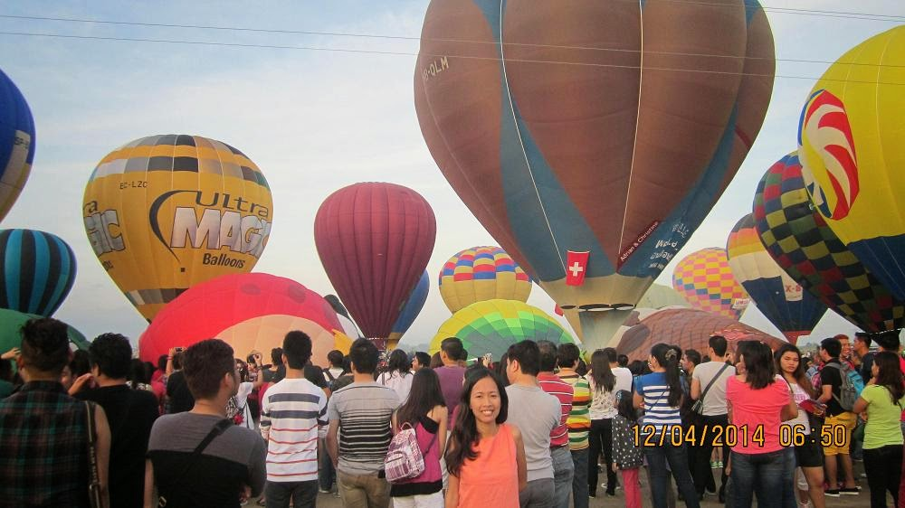 hot air balloon philippine ride