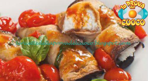 Magazine Prova del cuoco - Ingredienti e procedimento della ricetta Cannoli dell'orto con ricotta di Marco Parizzi