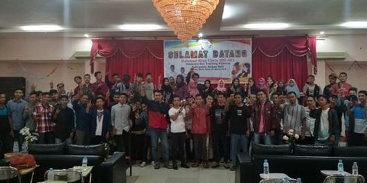 Relawan Cinta Ibu Rohil Deklarasi Dukung Jokowi-Ma'ruf Amin