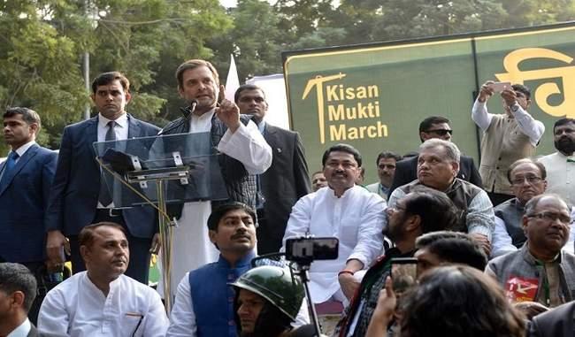 किसान आंदोलन : किसानों की मांगों के समर्थन में एकजुटता से खड़े हैं सभी दल: राहुल गांधी