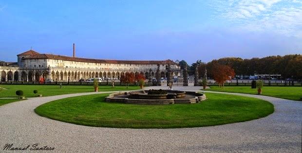 Piazzola sul Brenta, vista dalla Villa Contarini