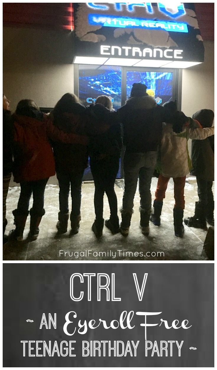 Ctrl V Virtual Reality - An Eyeroll Free Teenage Birthday Party (and