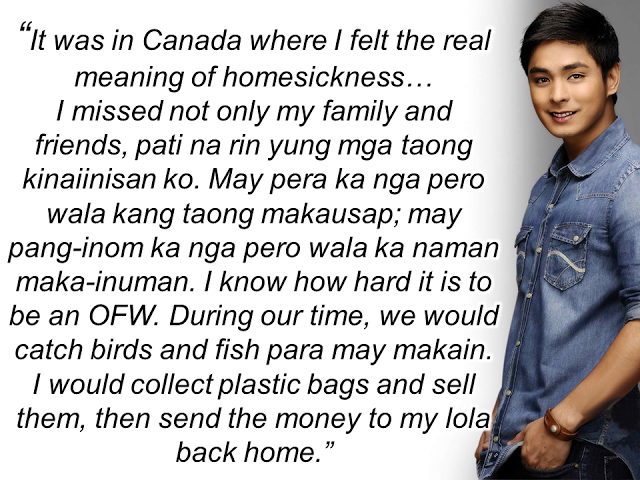 Coco Martin Remembers The Time He Worked as an OFW Janitor, Collecting Plastic Bags Just to Survive! READ HERE!