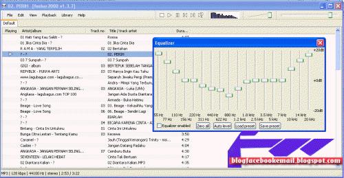 software pemutar lagu foobar2000
