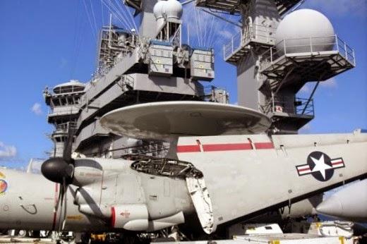 aircraft on USS Dwight D. Eisenhower