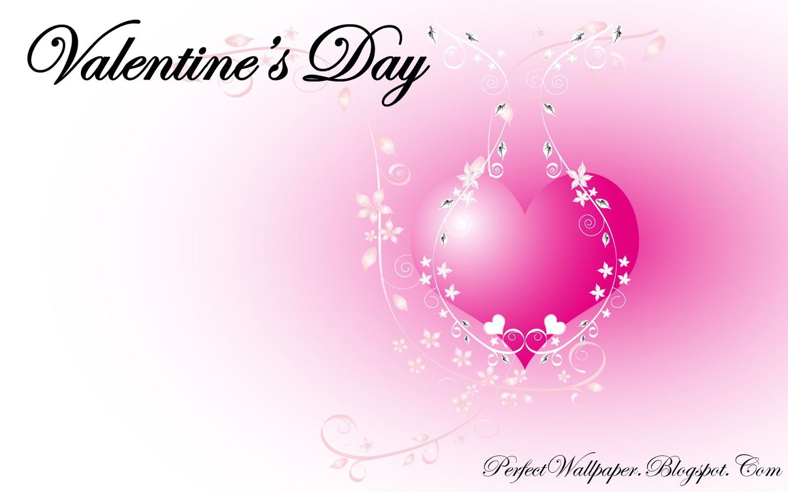 Valentine's Day Pink Wallpaper | Perfect Wallpaper