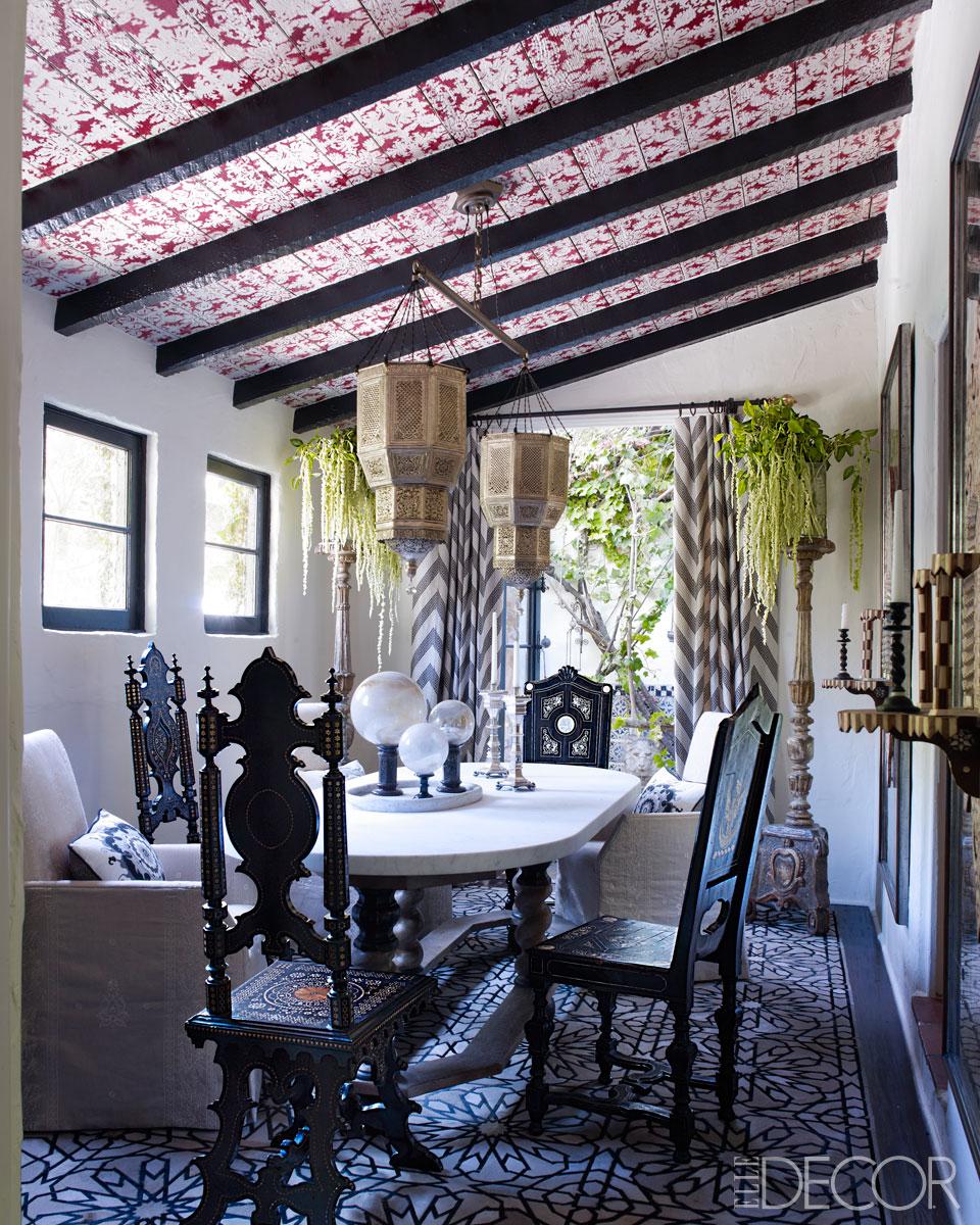 Dining Rooms From Elle Decor: Loveisspeed.......: STAR TURN: MARTYN LAWRENCE BULLARD'S