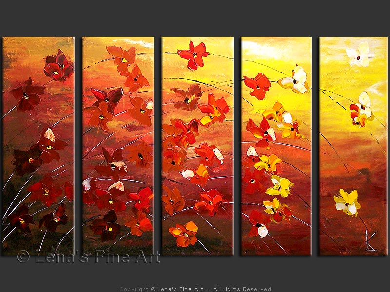 Autumn Paintings Autumn Posters Picture
