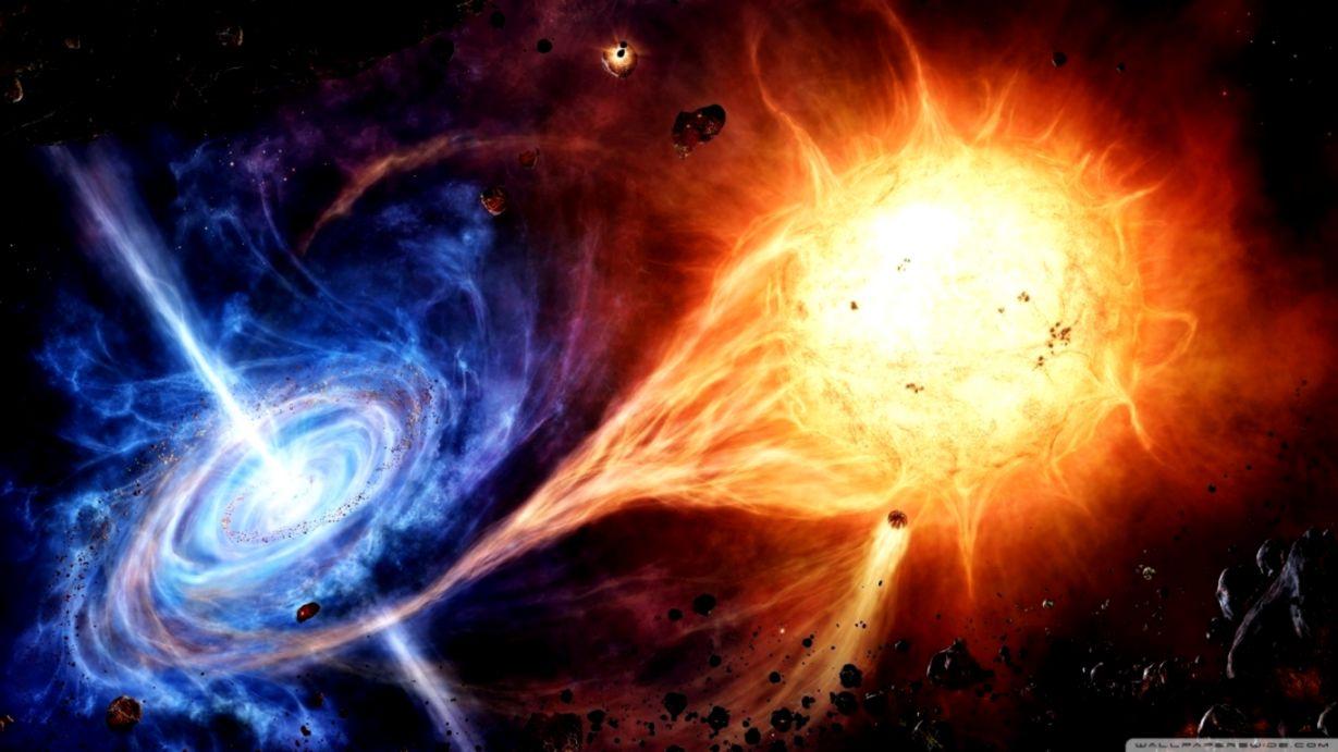 Space Black Hole Hd Wallpaper Wallpapers Heroes
