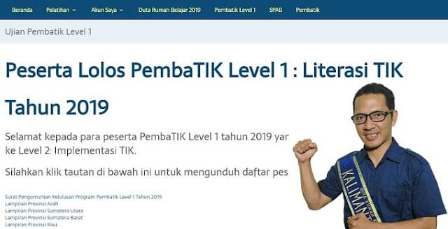 Persiapan Pembatik Level 2 2019