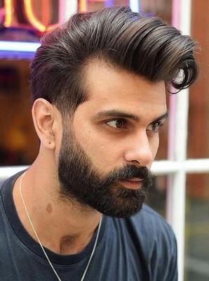 gaya rambut jambul pria