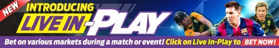 Bet Live In-Play with Hollywoodbets - Click here to bet on various markets during the game