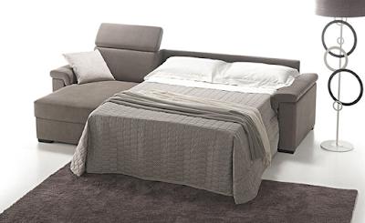 Divani e divani letto su misura divani letto con materasso alto cm 18 personalizzabili - Divano letto con materasso alto ...