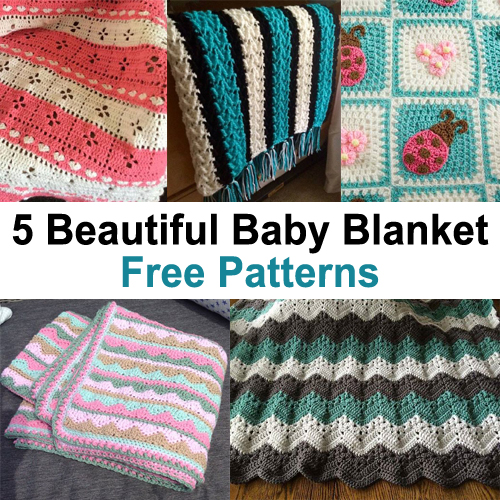 Beautiful Baby Blankets - Free Patterns