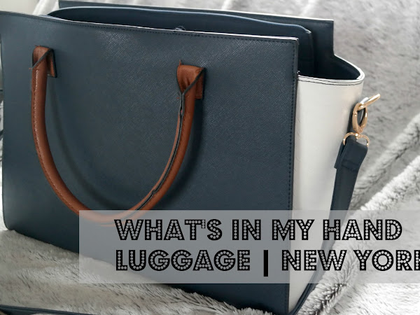 What's in my Hand Luggage | New York