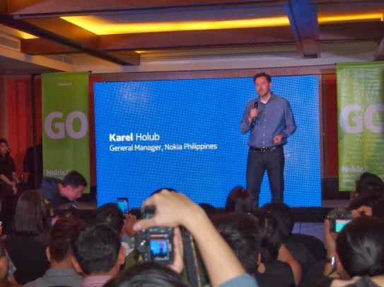 Nokia X Smartphone Officially Launched Locally, Karel Holub, General Manager of Nokia Philippines