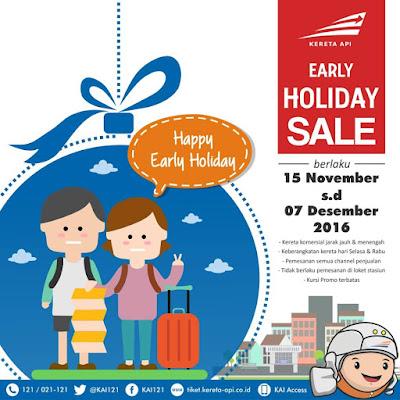 Promo KAI Early Holiday Sale