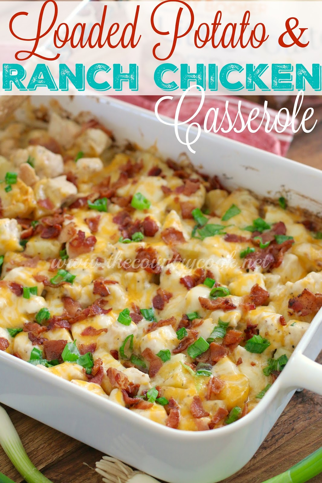 Country Chicken and Potato Bake