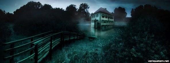 uma casa assombrada em uma cidadezinha no interior, coisas estranhas e sobrenaturais acontecem ali a todo momento, assustador, intrigante