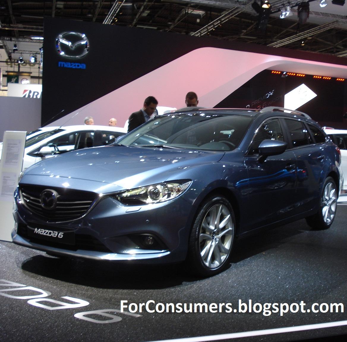 Mazda 6: New Mazda 6 2013 Estate And Sedan Car Review