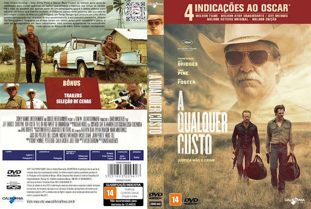 Capa DVD A Qualquer Custo [Exclusiva]