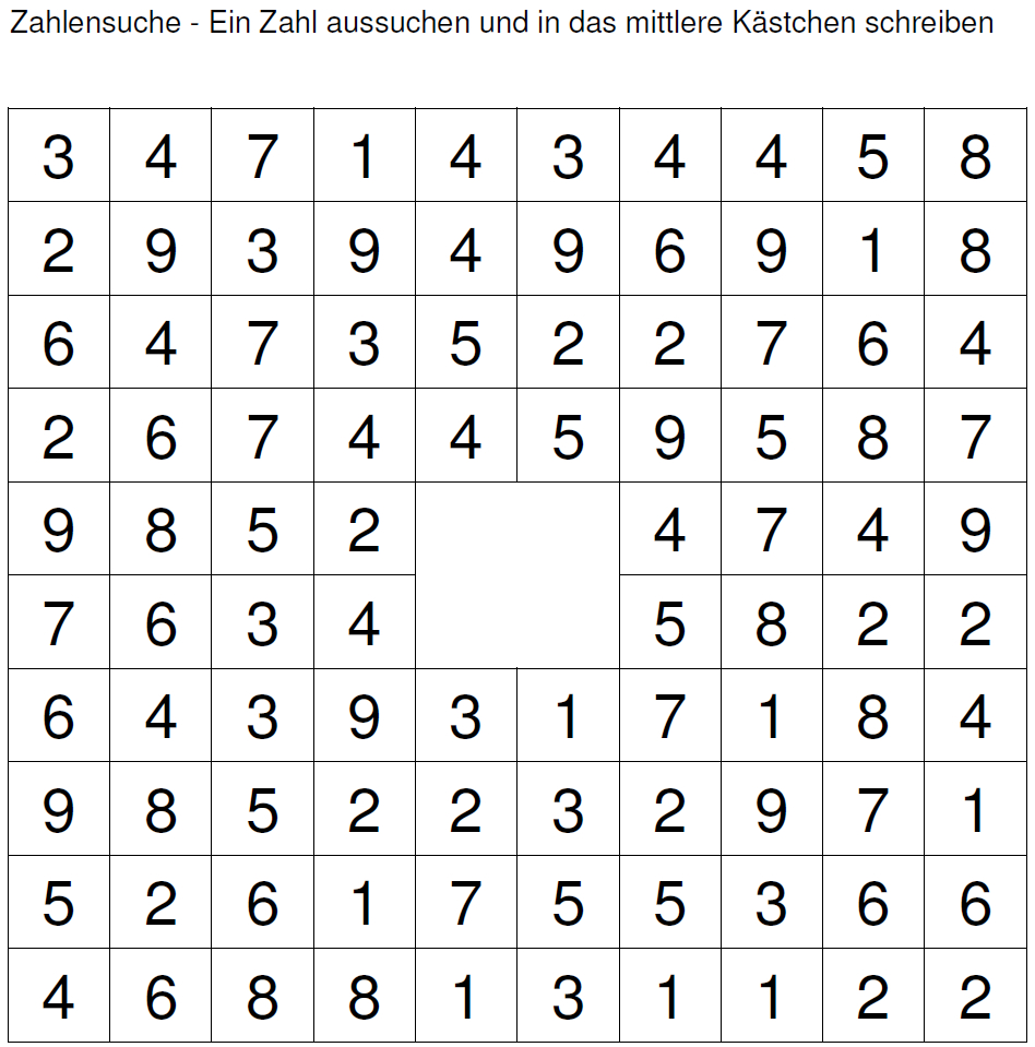 Perfect Horizontal Mathe Arbeitsblatt Ensign - Kindergarten ...