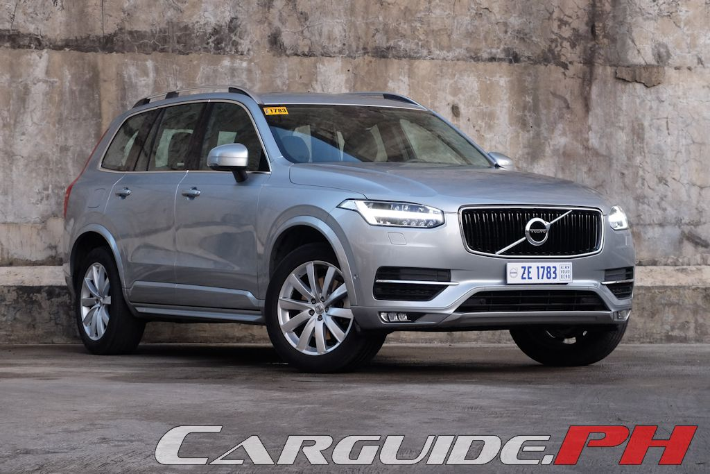 review 2016 volvo xc90 d5 momentum philippine car news. Black Bedroom Furniture Sets. Home Design Ideas