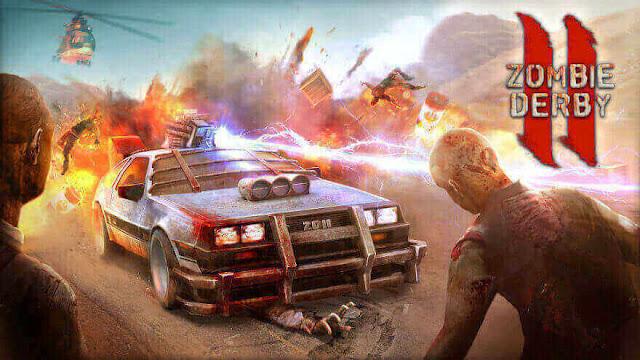 الجزء الثاني للعبة Zombie Derby 2 للاندرويد